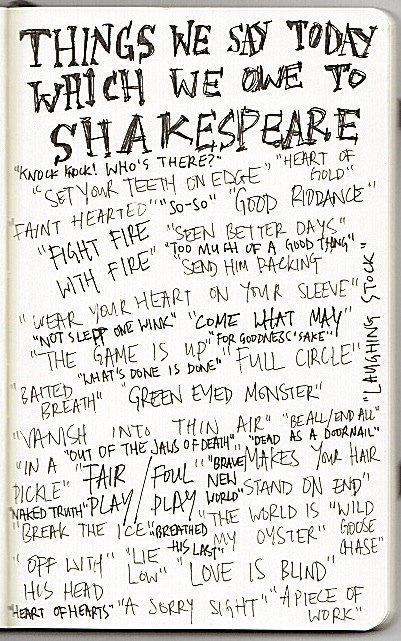 Phrases We Learned from Shakespeare