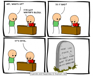 WritersBlock by Cyanide and Happiness - Explosm.net