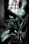 Cover from Darkness from Within showing an evil face glaring at you
