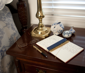 Dreamjournal on Nightstand