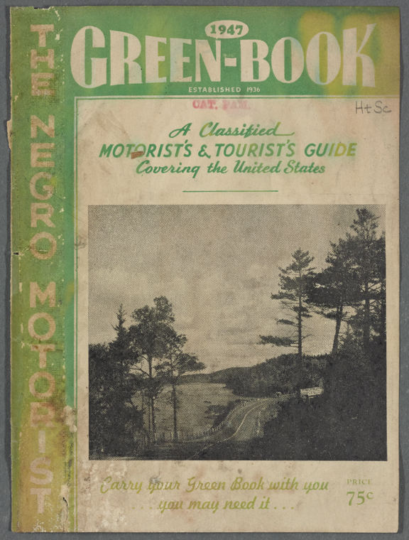 Cover of the Negro Motorist Green-Book