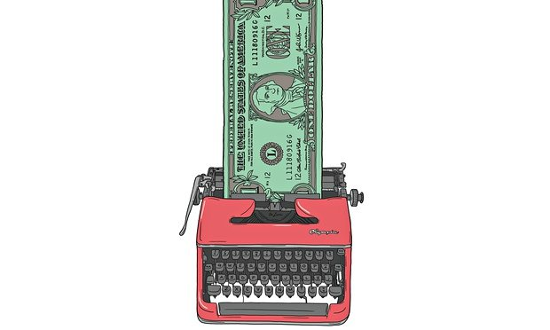 Typewriter-Cash