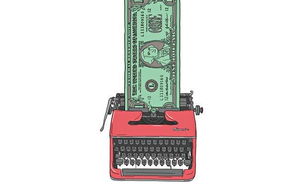 Typewriter-Cash